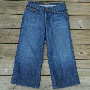 🚺David Kahn Capri Goucho Jeans
